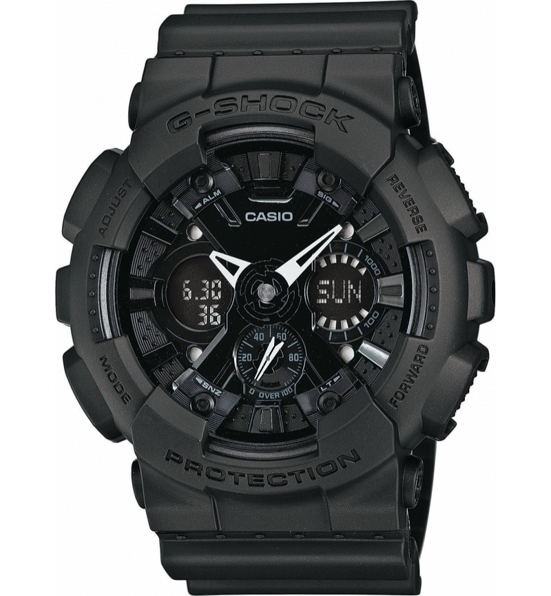 Casio GA-120BB-1AER G-Shock Black Rubber Strap
