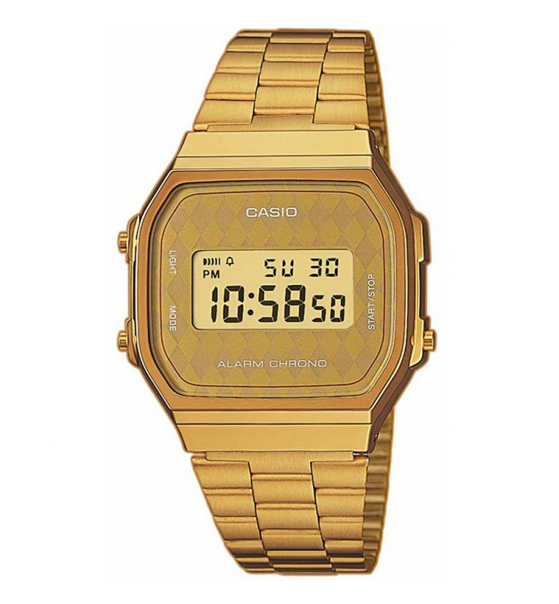 CASIO Collection Gold Stainless Steel Bracelet