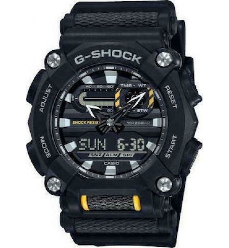 CASIO G-Shock Chronograph GA-900-1AER