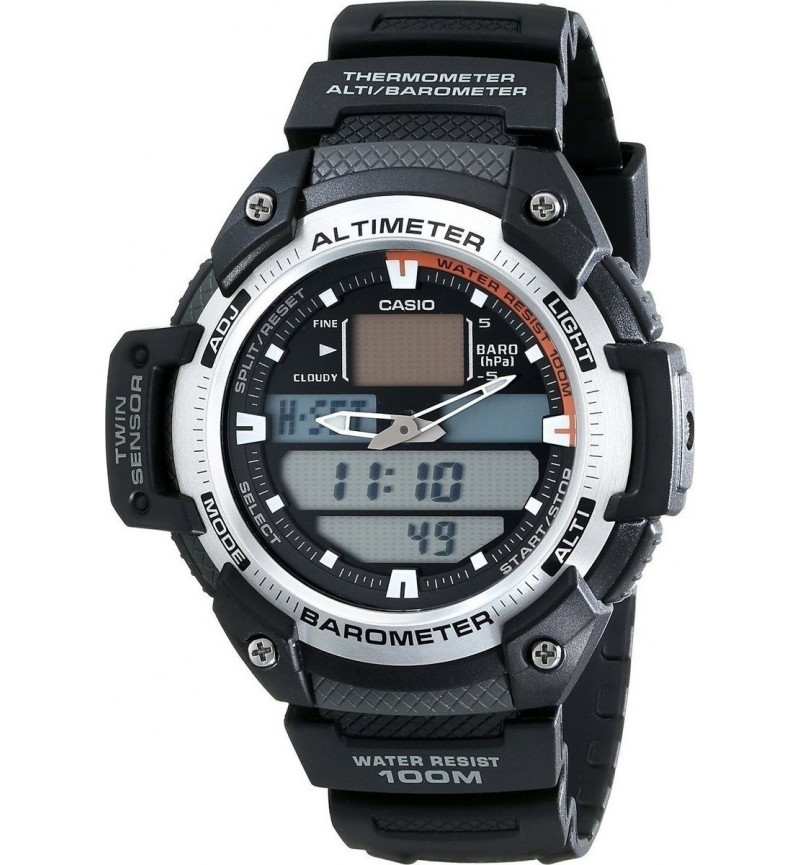 CASIO GEAR SGW-400H-1BVER THERMO-ALTI/BARO