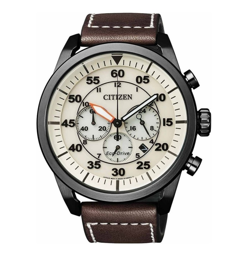 Citizen Eco-Drive Chrograph Brown CA4215-04W