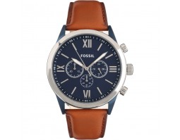 FOSSIL CHRONOGRAPH BROWN LEATHER