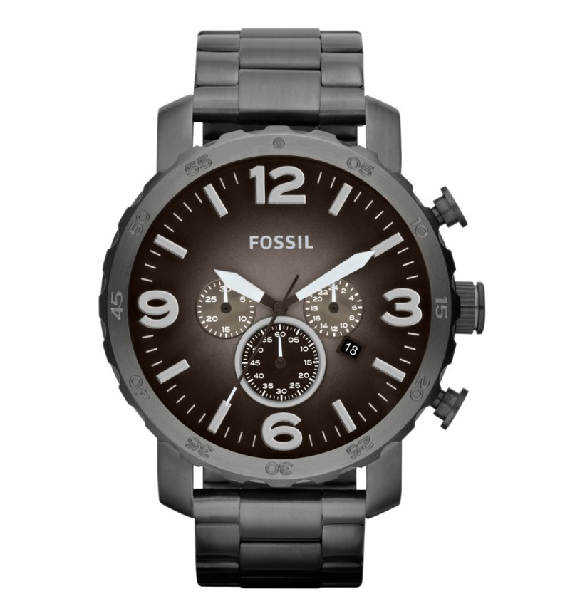 Fossil Nate Chronograph Smoke JR1437