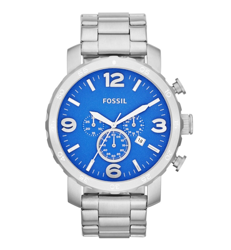 Fossil Nate Chronograph Watch JR1445