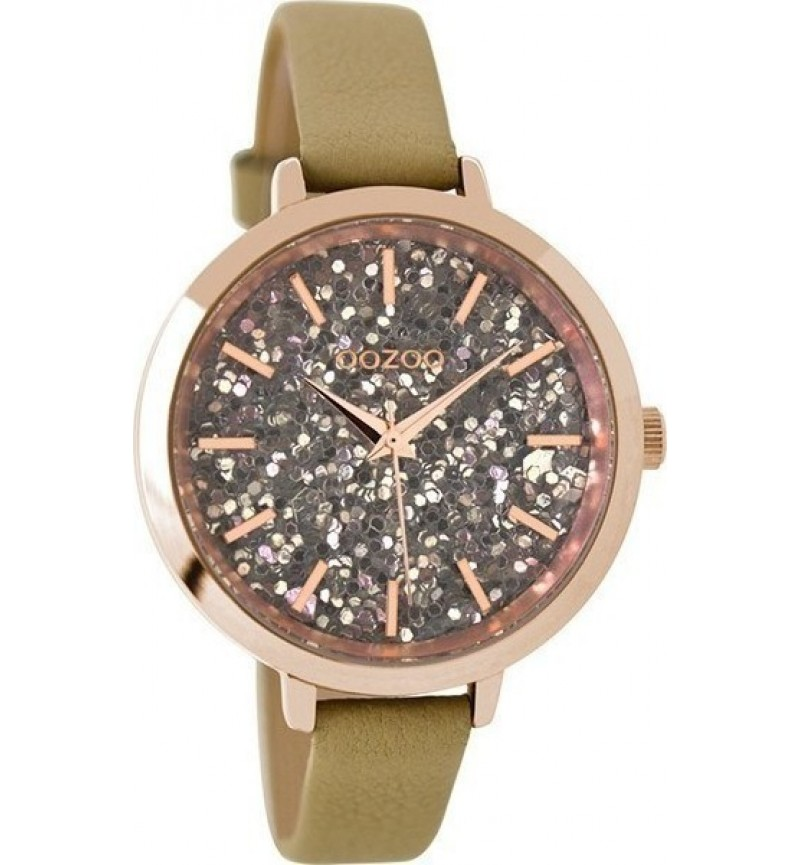 OOZOO Ladies Sand Leather Strap C9145
