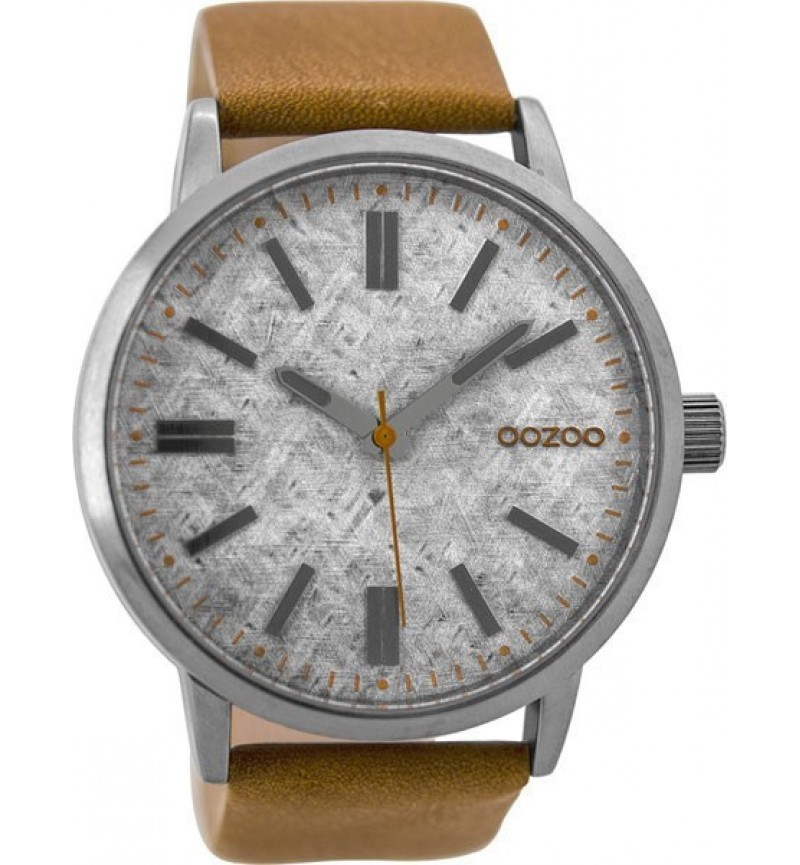 OOZOO Timepieces Brown Leather Strap C9405
