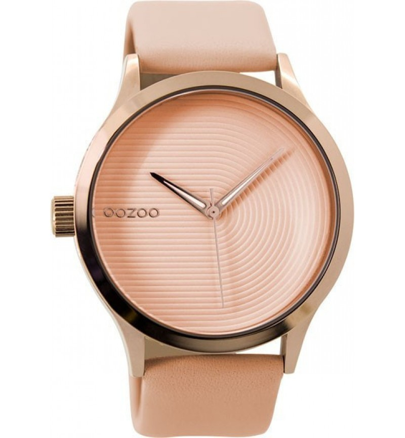 OOZOO Ladies Pink Leather Strap C9431