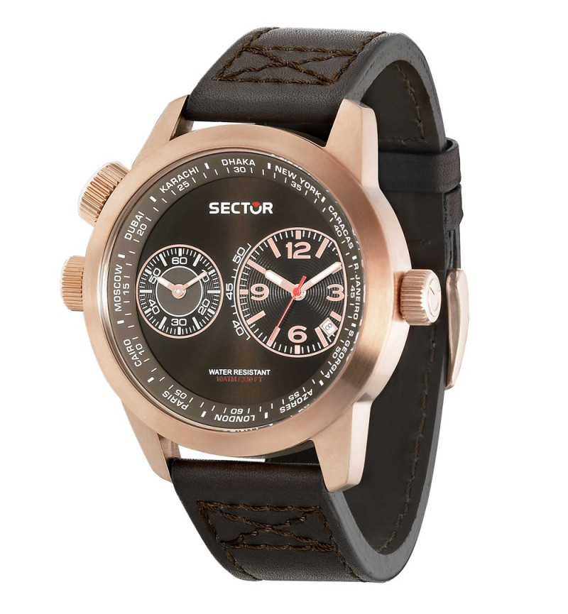 Sector Oversize Rose Gold R3251102022