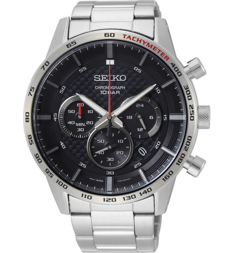 Seiko Mens Chrono Watch SSB355P1