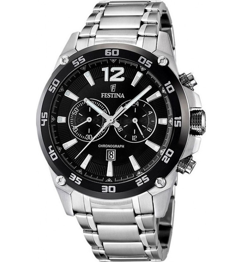 FESTINA Stainless Steel Chronograph F16680/4