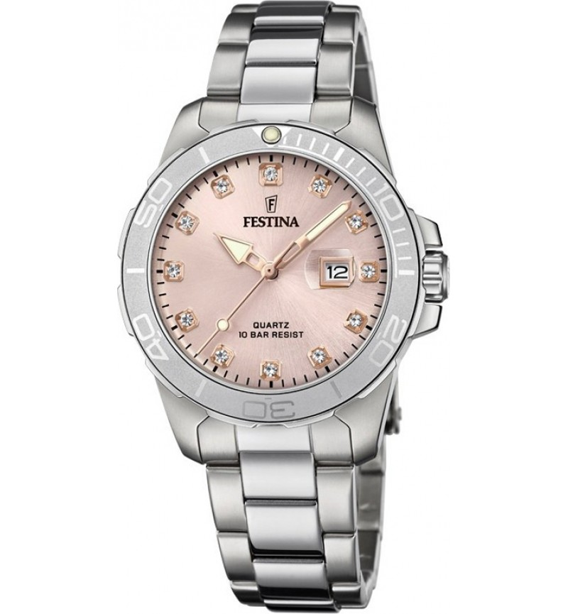 FESTINA Crystals Stainless Steel Bracelet F20503/2