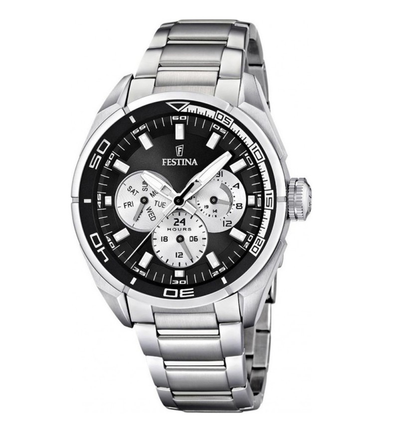 FESTINA Stainless Steel Chronograph F16608/5