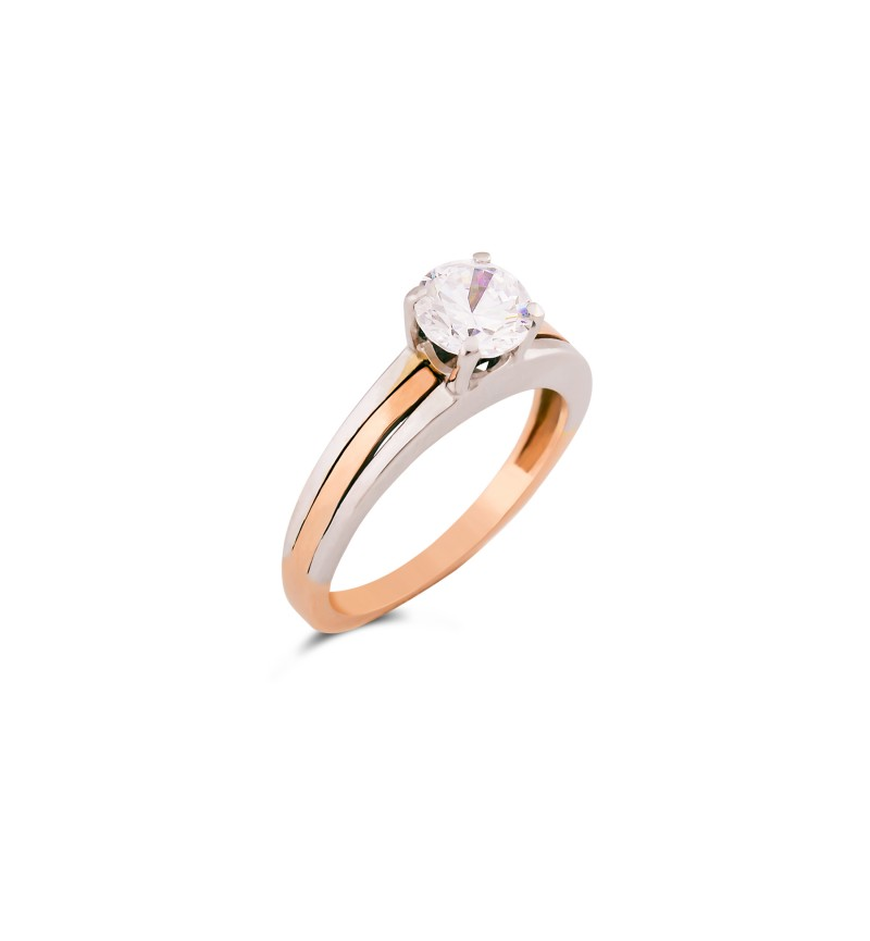 Solitaire ring 1001