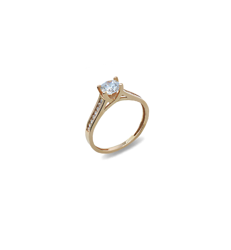 Ring with zircon 1079