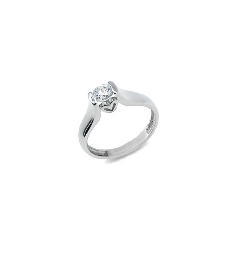 Ring with zircon 1091