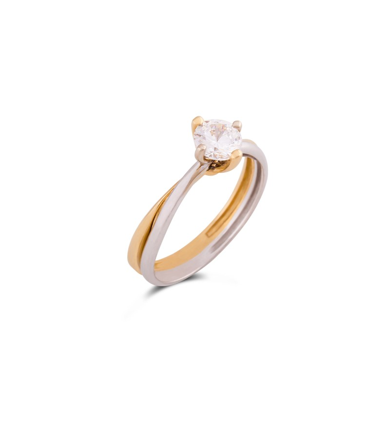 Solitaire ring 1024
