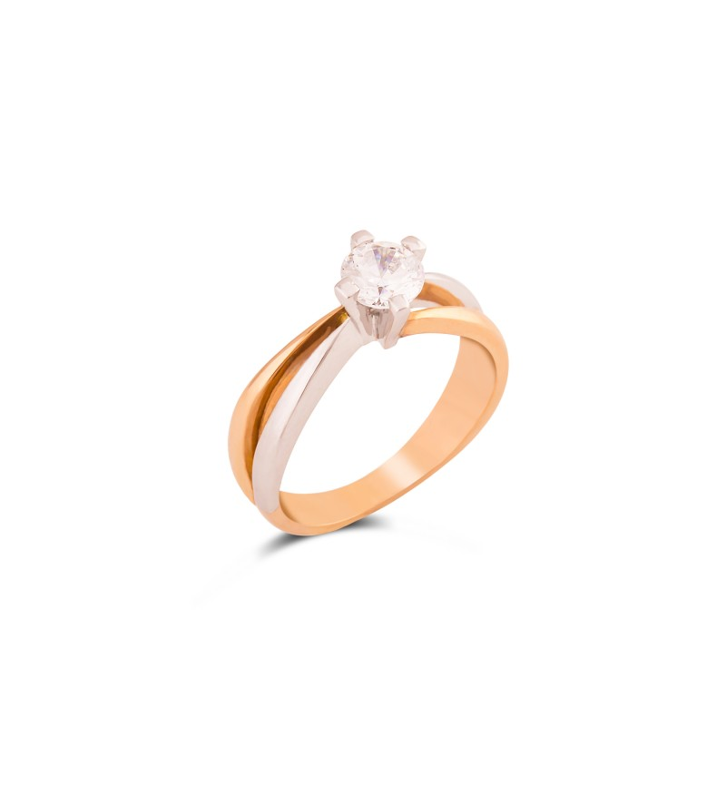 Solitaire ring 1027