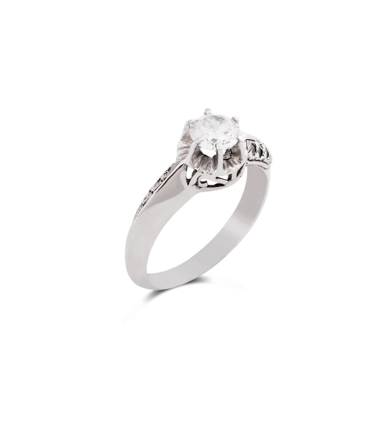Solitaire ring 1035