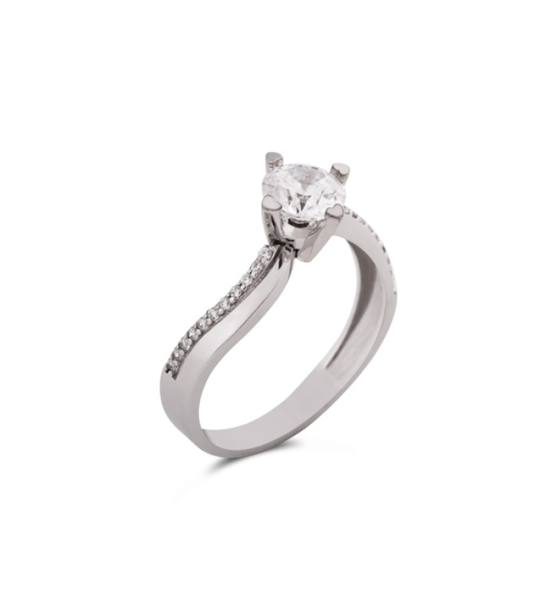 Solitaire ring 1038