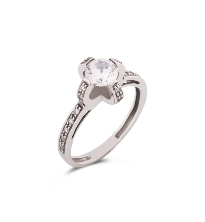 Solitaire ring 1039