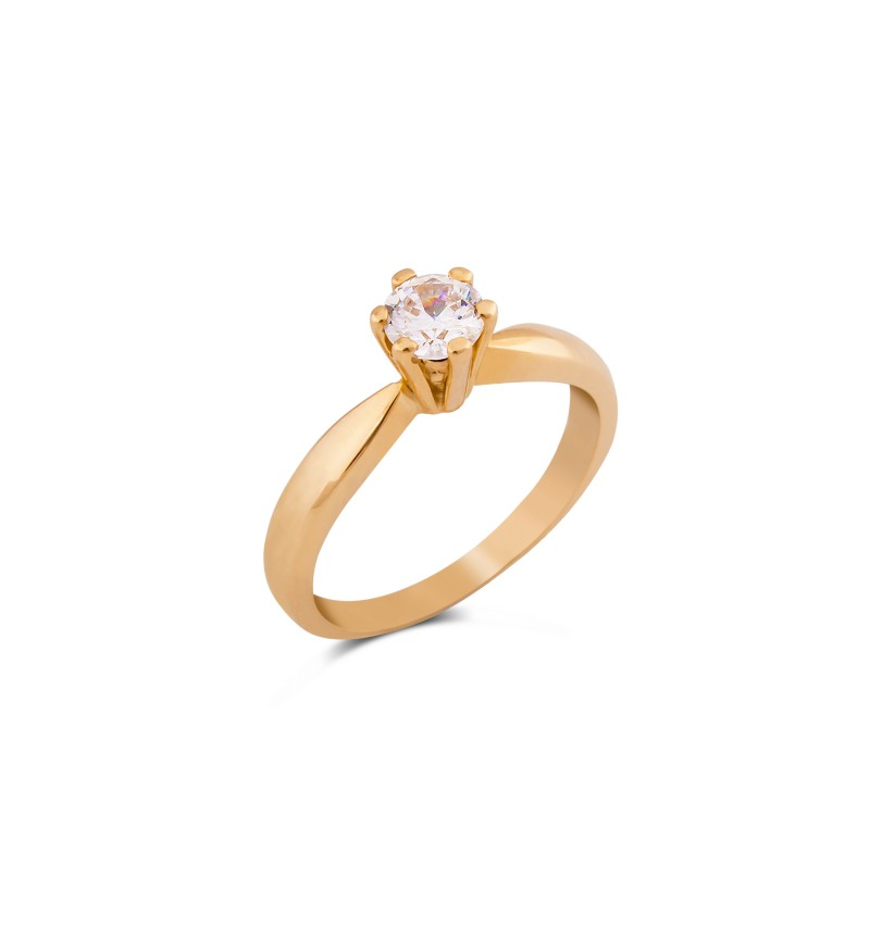 Solitaire ring 1046