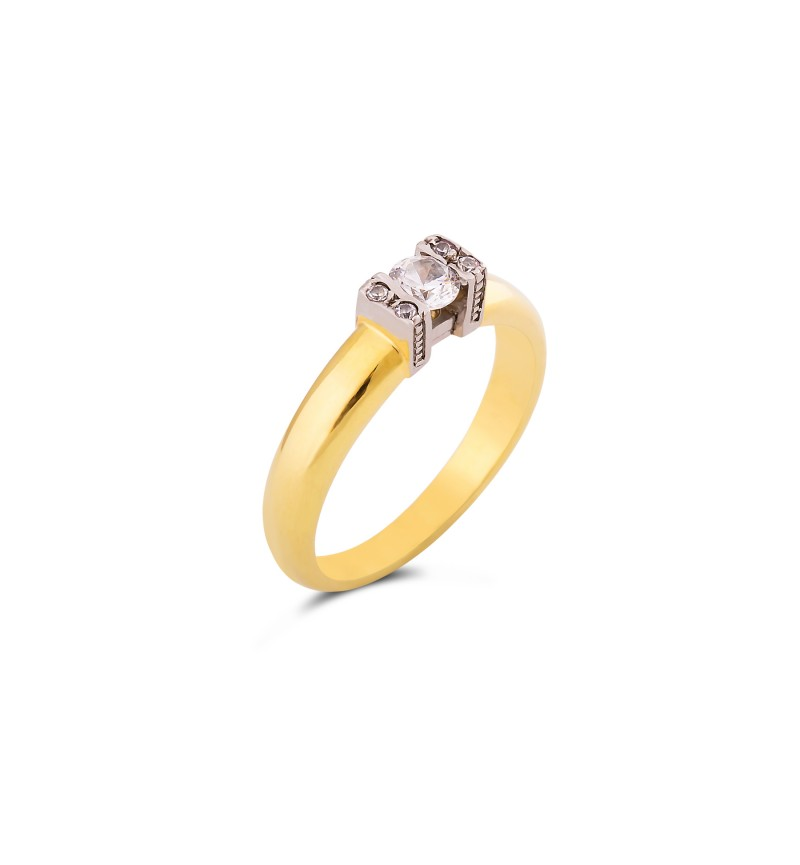 Solitaire ring 1056