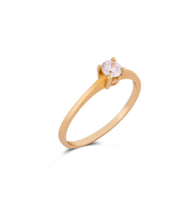 Solitaire ring 1058