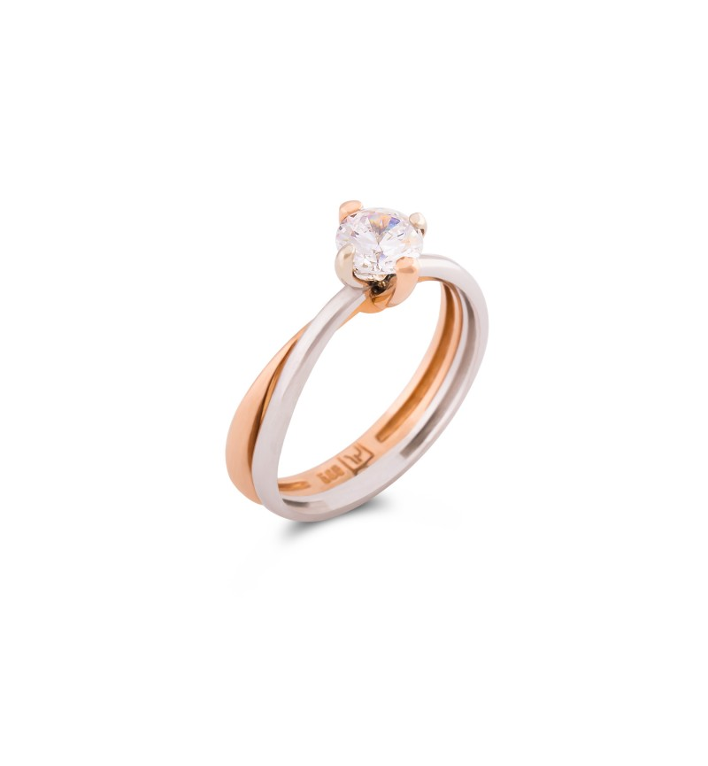Solitaire ring 1060