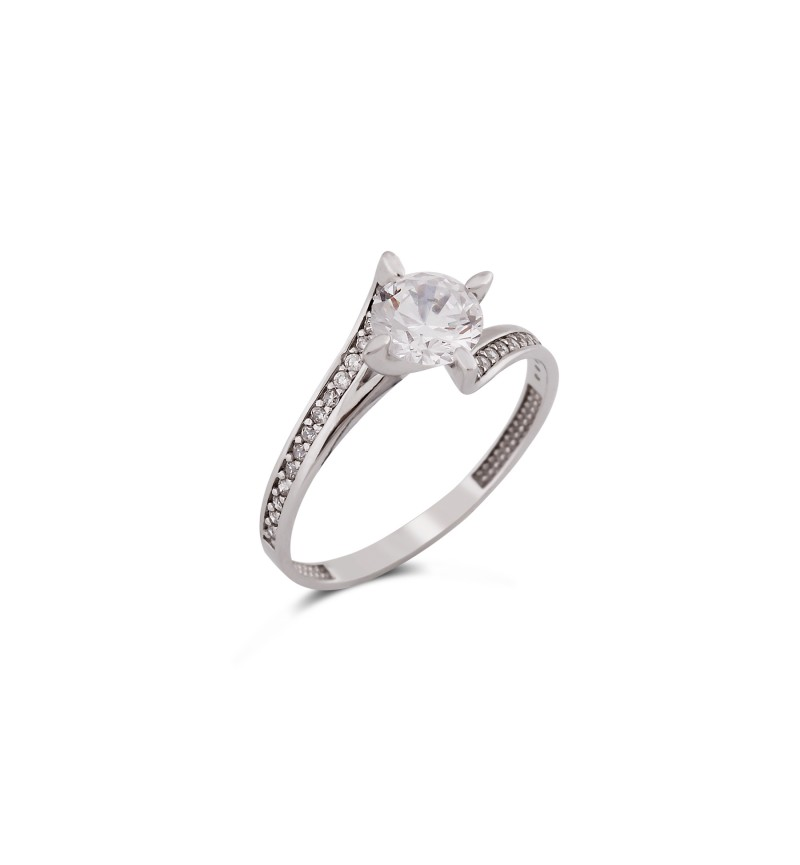 Solitaire ring 1009