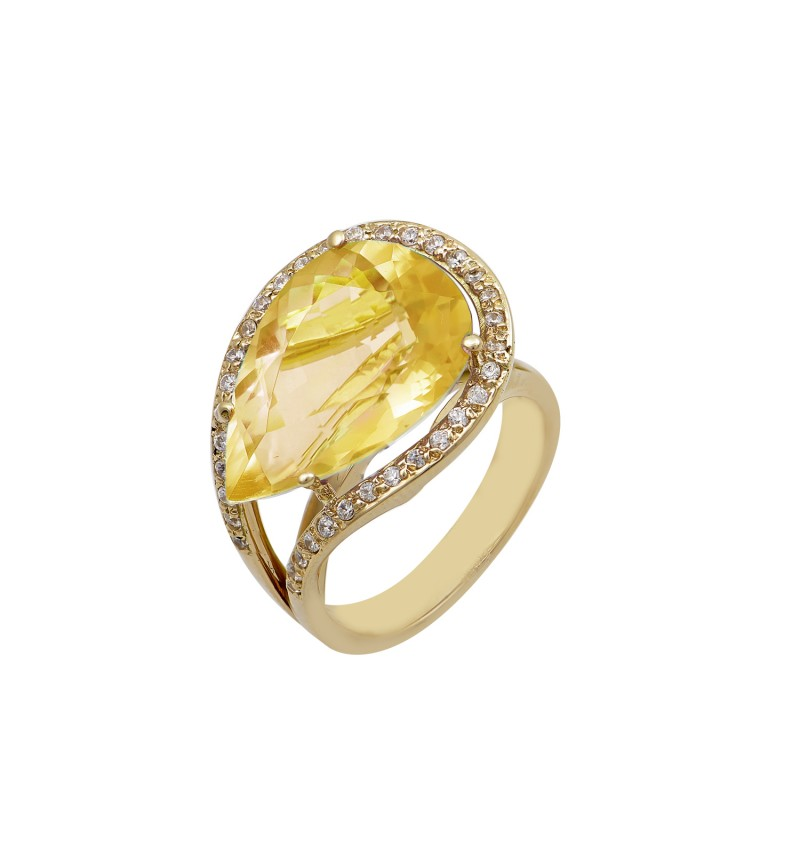 ΔΑΧΤΥΛΙΔΙ MAJESTIC DIAMONDS CITRINE
