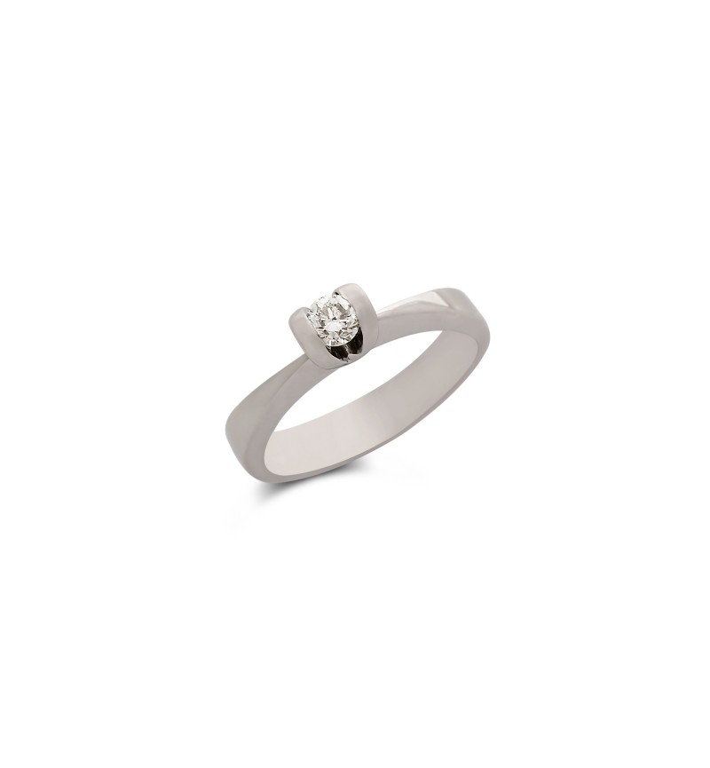 Diamond solitaire ring 441