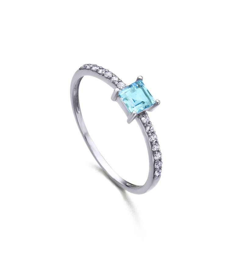 ΔΑΧΤΥΛΙΔΙ BLUE TOPAZ DIAMONDS