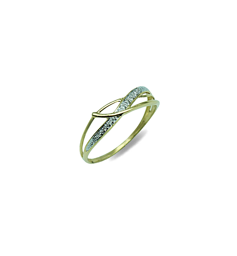 DIAMOND SOLITAIRE RING 0.04CT