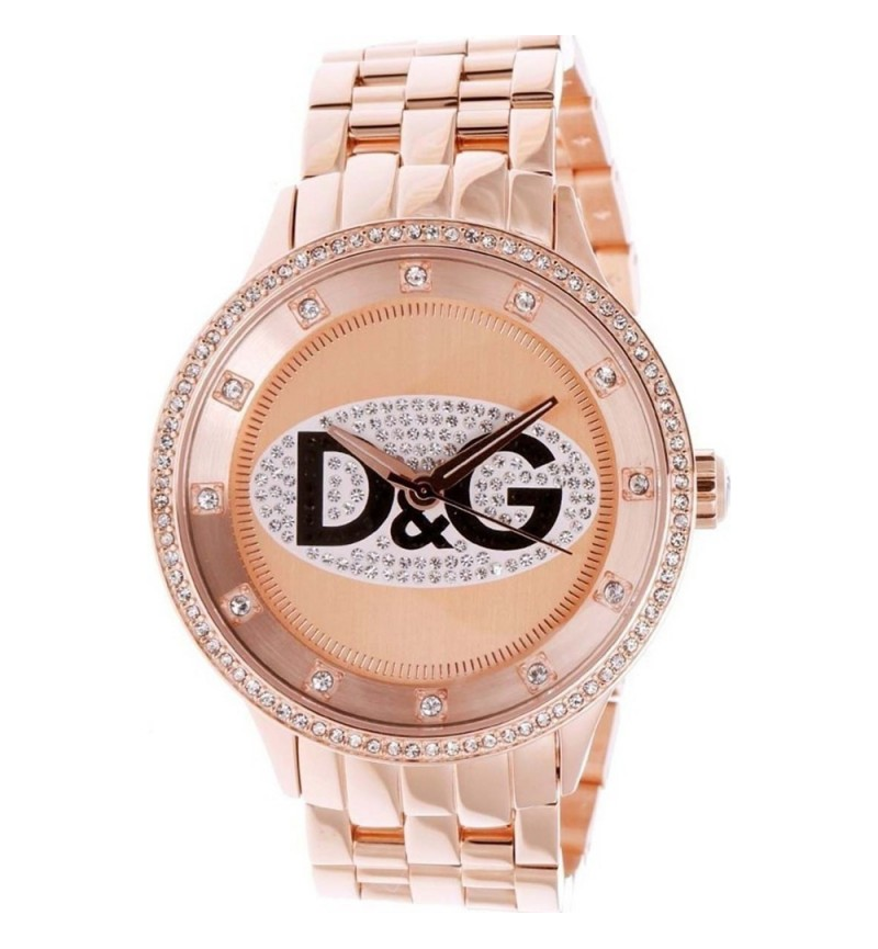 Dolce & Gabbana D&G Prime Time Rose Gold DW0847