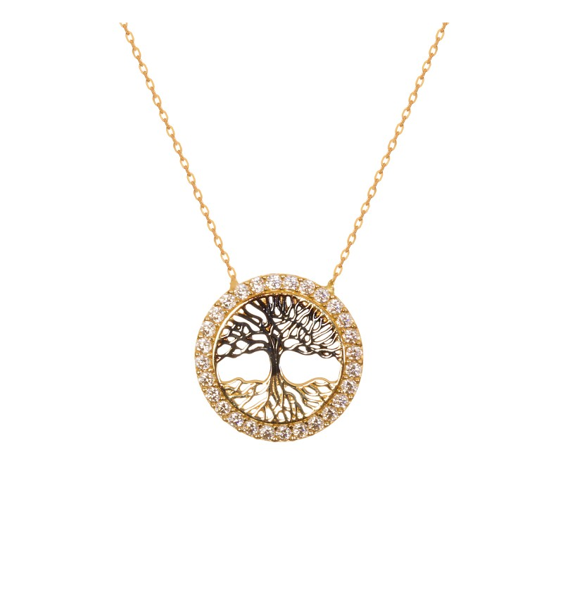 Necklace the tree of life