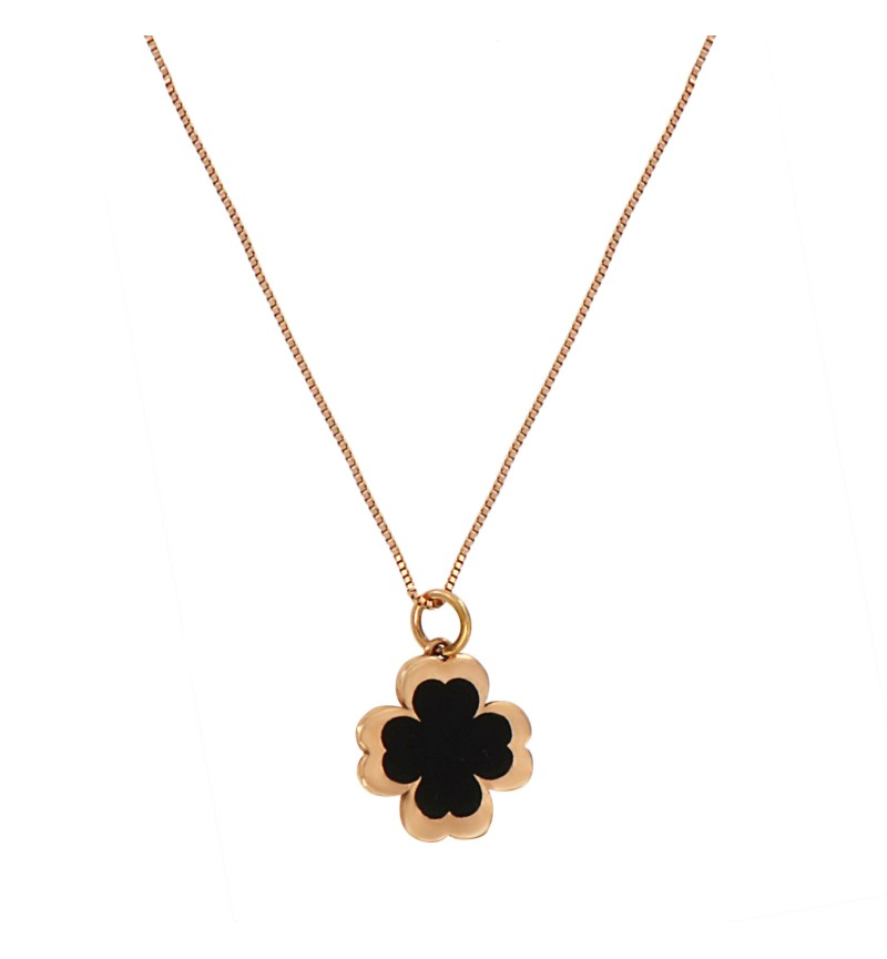 NECKLACE FOUR LEAF CLOVER