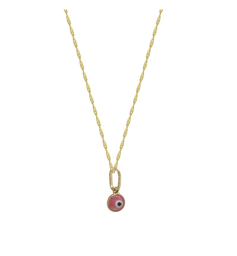 NECKLACE ROSE EYE