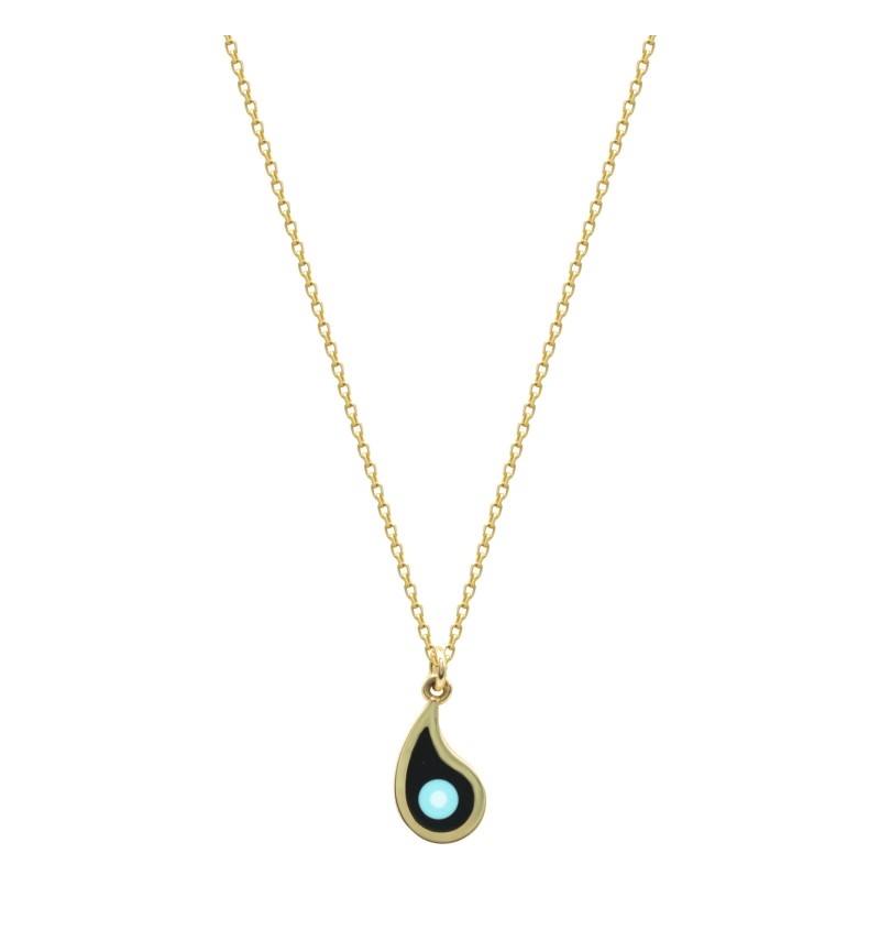 Necklace black eye