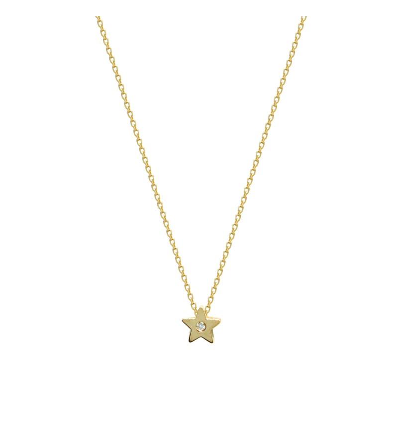 Necklace star brilliant