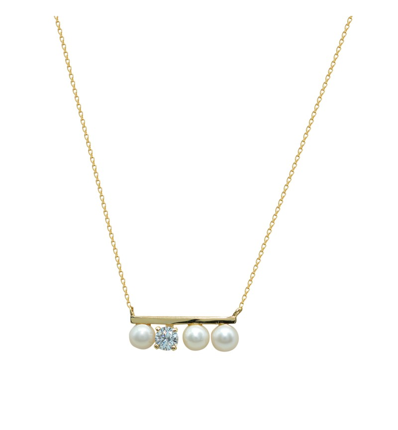 NECKLACE LINE PEARLS