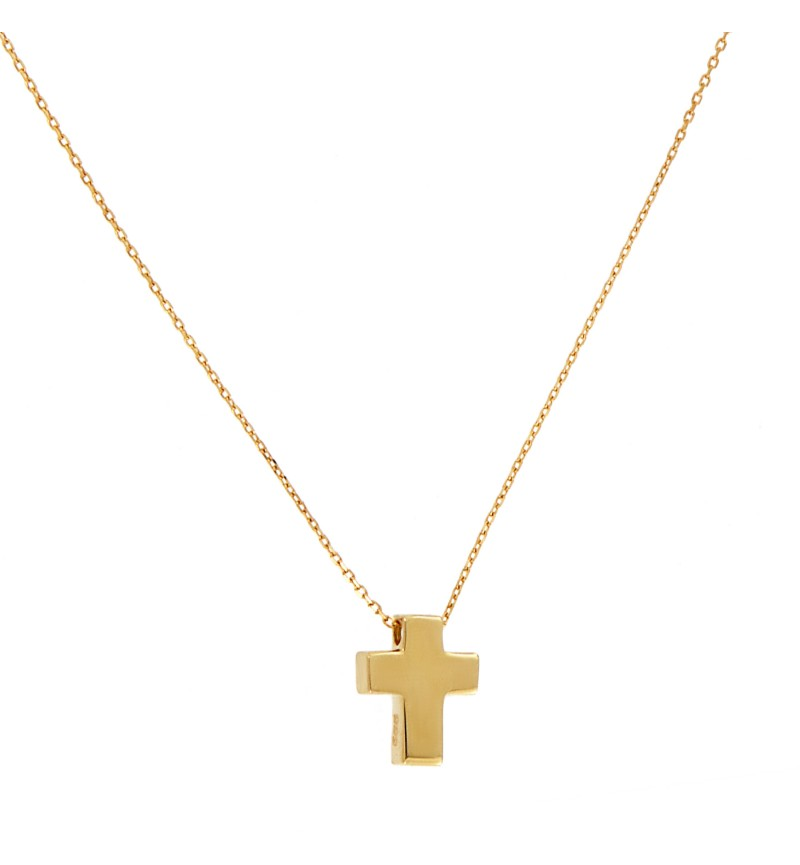 NECKLACE TOTAL GOLD CROSS