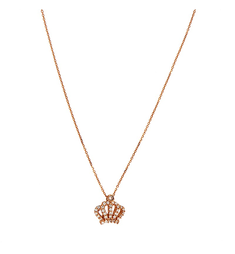 NECKLACE ZIRCON CROWN