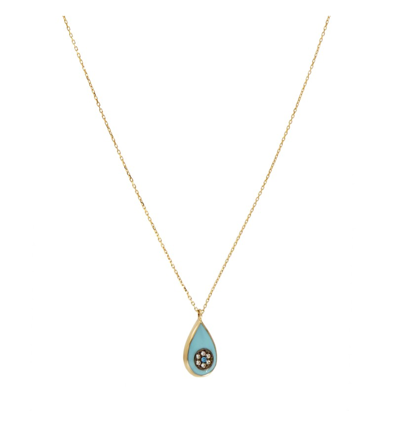 NECKLACE BLUE EYE