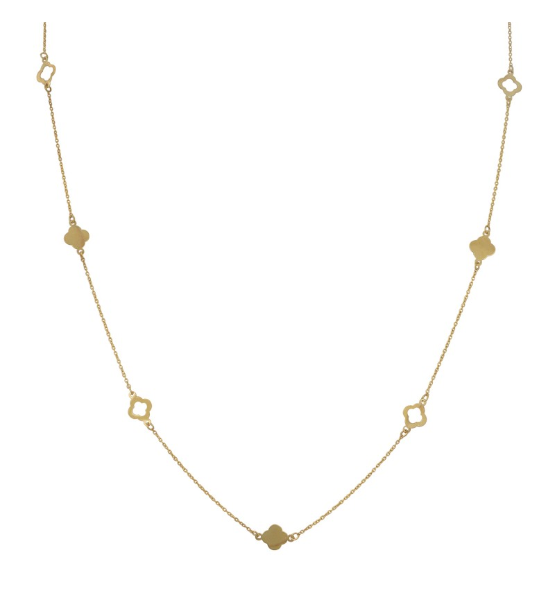 NECKLACE GOLD VAN CLEEF