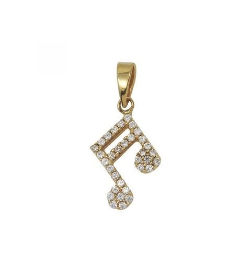 PENDANT  musical note