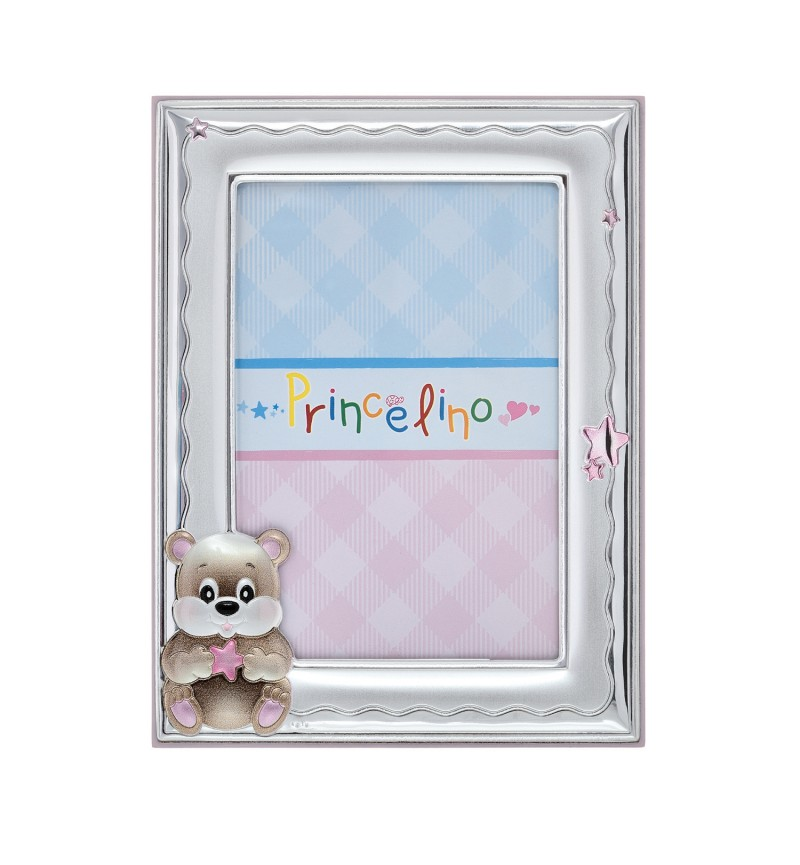 SILVER PHOTO FRAME FOR BABY GIRL MA-139D-R
