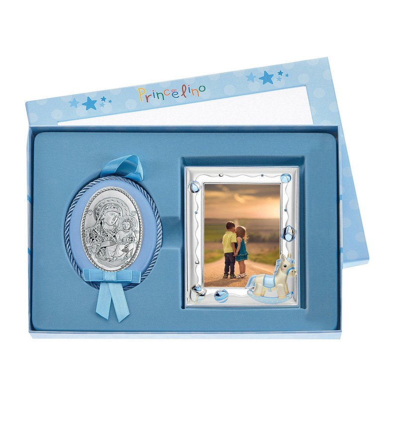 SILVER FRAME-IMAGE FOR BOY 9X13 MA-S140-3C