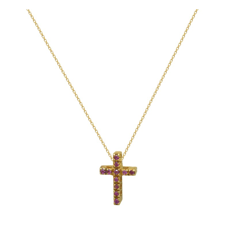 GOLD CROSS RUBY