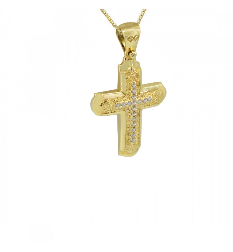 Gold cross 1022