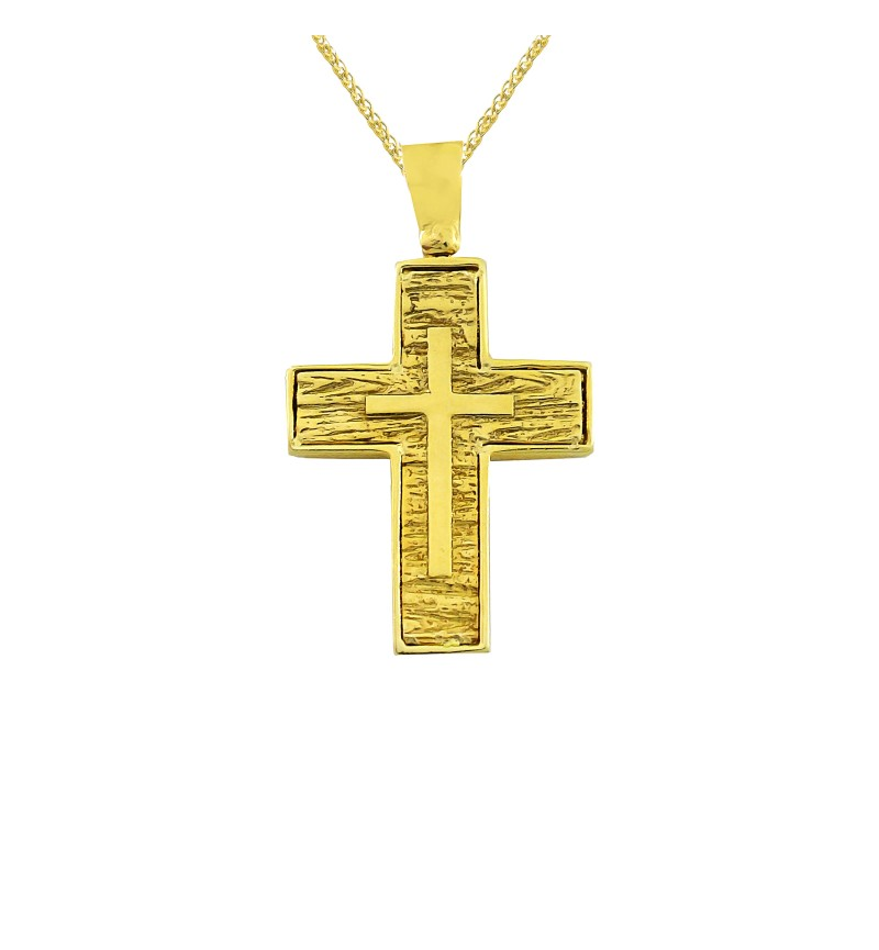 Gold cross 1027